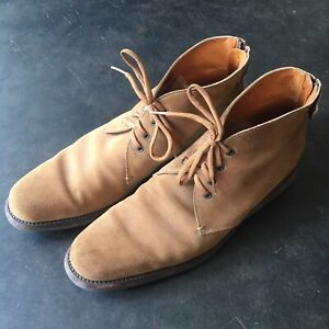 Jill Sander Suede Desert boot. Size 12. Made In Italy