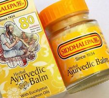 Siddhalepa Herbal Ayurvedic Balm for Aches and Pains 2.5g 25g 50g tub uk Seller