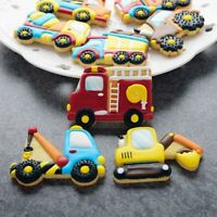 8pcs/set Kitchen Tool Car Biscuit Mould Baking Mold Cookie Cutters Cake Decor
