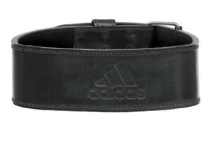 Adidas Genuine Leather Weight Lifting Belt Size XXL