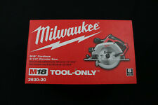 "Milwaukee 2630-20 M18 Li-Ion Cordless 6-1/2"" Circular Saw (Tool Only) - Open Box"