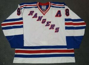 Eric Lindros New York Rangers Authentic Signed NHL Starter Hockey Jersey Size 60