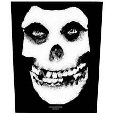 Misfits Back Patch: Face Skull