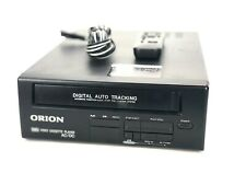 New listing Orion Video Cassette Player Vcr Vhs Works Remote Included Model Vp0060