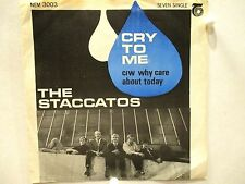 The Staccatos  Nem 3003  Cry To Me b/w Why Care About Today  South African