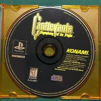 Castlevania: Symphony of the Night PS1 PlayStation 1 - Black Label - DISC ONLY