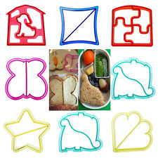 Kids Lunch DIY Sandwich Toast Cookies Cake Bread Biscuit Food Cutter Mold Mould