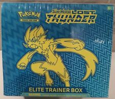 Pokemon TCG : Sun & Moon LOST THUNDER Elite Trainer Box ETB : Factory Sealed