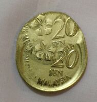 error-no date malaysia 50 cents( wrong / multi struck 20 cents)