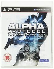 Alpha Protocol Sony PlayStation 3 Ps3 15 RPG Game