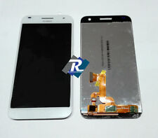 TOUCH SCREEN VETRO COMPLETO DI LCD DISPLAY Per Huawei Ascend G7-L01 Bianco