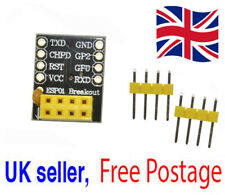 Adapter for ESP-01S ESP8266 ESP-01 Wifi Transceiver Module Breakout UK Seller
