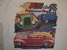 K.S Auto Performance Store T Shirt Size L Niagara 2005 Hot Rod Muscle Car