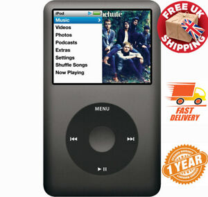 NEW! iPod Classic 7 30 80 120 160 256 512 1TB Grey/Black/Silver 2 YEARS WARRANTY