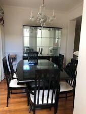 dining room set 6 chairs brand millennium