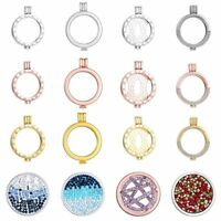 Stainless Steel Locket Holder Fit Coin Necklace Fit 33mm Coin Gift Jewellery