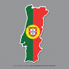 Portugal Mapa Bandera Pegatina-Coche-Laptop-Macbook Notebook - 2952