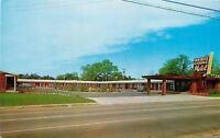 Valdosta Georgia~Holiday Terrace Motel~M/M John Spell 1950s Postcard