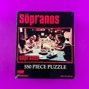 The Sopranos 550 Piece Puzzle - HBO Offical 2004