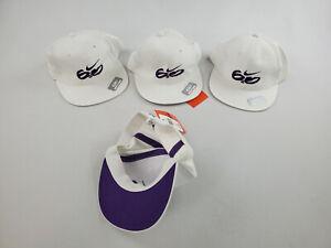 new NIKE kids unisex hat 6.0 9A8015-001-KF white purple 8-20 $18