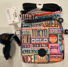 Kipling Hello Weekend El Dorado Prt Bag -NWT