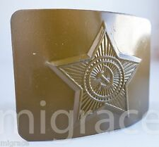 RUSSIAN SOVIET army belt buckle - camouflage
