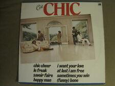 CHIC C'EST CHIC LP ORIG '78 DISCO FUNK NILE RODGERS BERNARD EDWARDS LE FREAK VG+