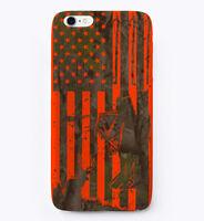 Bow Hunter Camo / Flo Orange Gift Phone Case iPhone