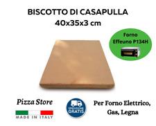 BISCOTTO DI CASAPULLA P134H 40x35 - PIETRA REFRATTARIA PIZZA FORNO ELETTRICO
