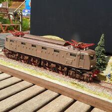 Rivarossi 1444 antica locomotiva elettrica E 428.123 2 Bo Bo 2 FS Castaño