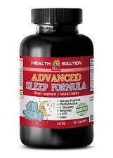 Mucuna pruriens powder- ADVANCED SLEEP FORMULA - 1 Bottle -melatonin and theanin
