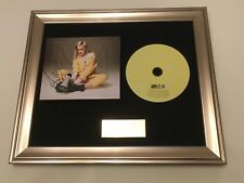 PERSONALLY SIGNED/AUTOGRAPHED ANNE MARIE - SPEAK YOUR MIND FRAMED CD.
