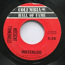 Country 45 Stonewall Jackson - Waterloo / Mary Don'T You Weep On Columbia