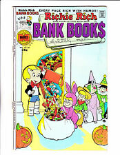 "Richie Rich Bank Book  No 20 : 1975 :"" Trick Or Treat Cover! """
