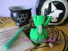Money Mojo Bag Spell Kit ~ Hoodoo Mojo Bag ~ Voodoo Mojo Bag ~ Witchcraft Herbs
