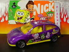 Fairly Odd Parents FORD FOCUS✰purple/yellow✰Matchbox nickelodeon✰loose Nick