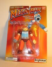 """1994 1995 Megaman MOC 5"""" Brightman Action Figure Complete Capcom Bandai"""