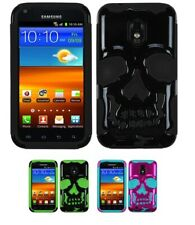 Skull Case +Silicone Cover Protector Case for Samsung Epic 4G Touch Galaxy S2