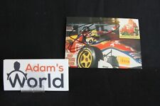 Card Tom Coronel (NED) Tom's Toyota F3 1997 signed (MM1)