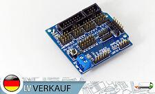 Arduino sensor Shield v5 para Arduino onu Mega Duemilanove servo motor Stepper