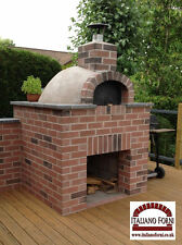 REDUCED Wood Fired Burning Pizza Oven Delux Kit - Garden REDUCED
