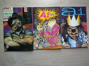 A1 Volume 2 1-2, 4, Lot of 3 Graphic Novels, English, Garry Leach