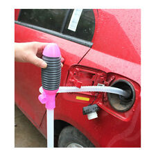 Auto Car Siphon Syphon Pump Petrol Diesel Fuel Fish-Tank Oil Transfer Pipe Set