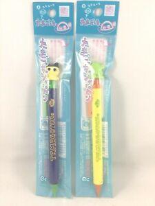 Tamagotchi Mametchi Kuchipatchi mechanical pencil w/charm mascot 1997 NEW Japan