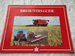 1983 IH International Harvester buyers guide catalog brochure agricultural equip