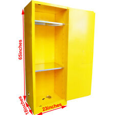 12 /22 Gal Industrial Safety Storage Cabinet for Flammable Chemical Reagent Bins