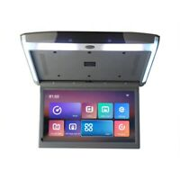 "15.6"" Android Car Roof, Caravan USB Player Mount Flip Down Monitor Screen"