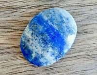 Lapis Lazuli Polished Palm Stone Healing Rock Reiki Yoga Chakra Natural Gemstone