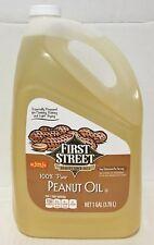1 Gallon First Street 100% Pure Peanut Oil (3.79L)