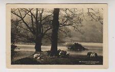 Cumbria postcard - Springtime iin Lakeland, Rydal Water - RP